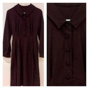 🖤 1960s Handmade Wiggle Dress , Pinup, Antique